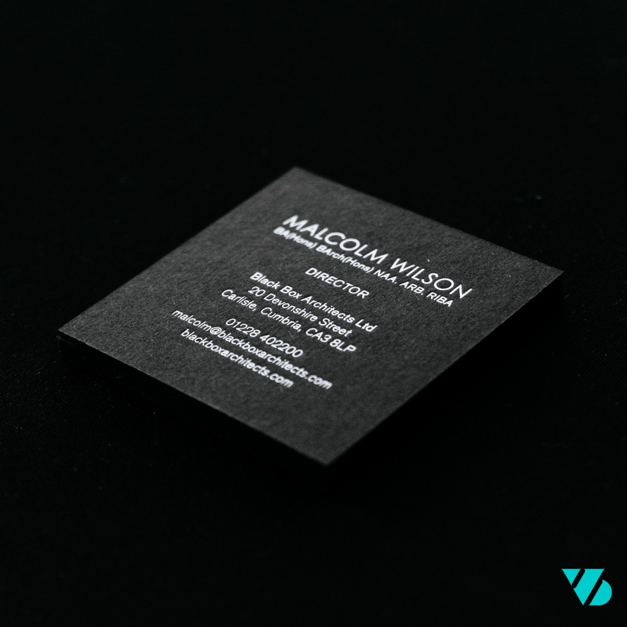 Blackbox business card