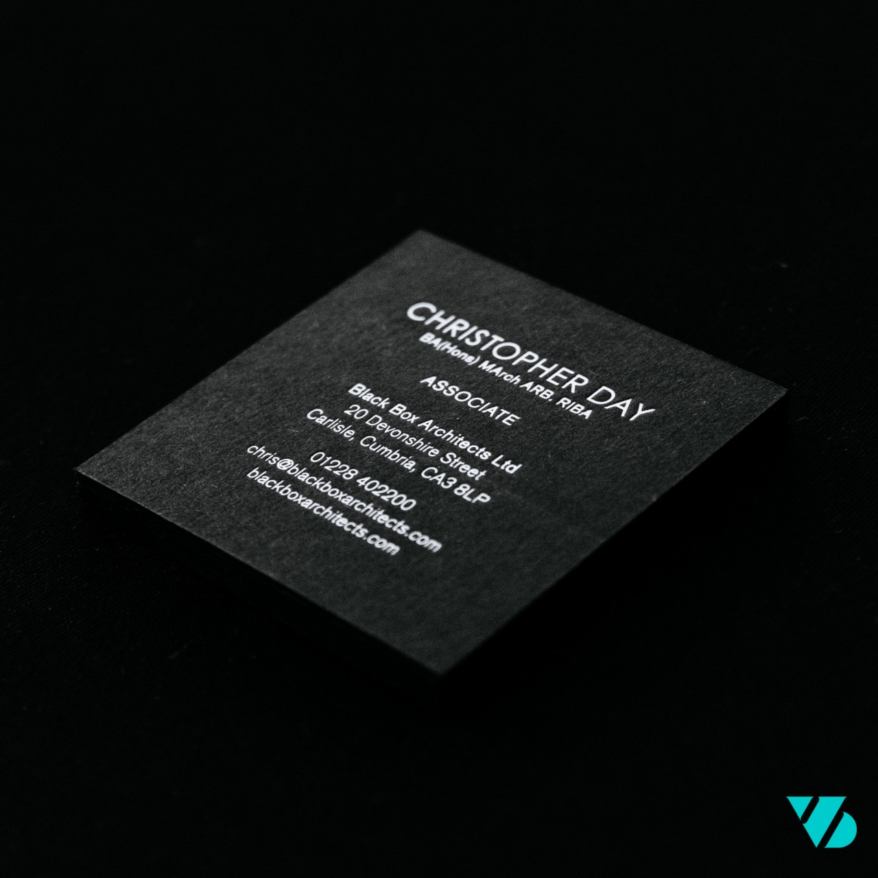 blackbox business card Christopher Day