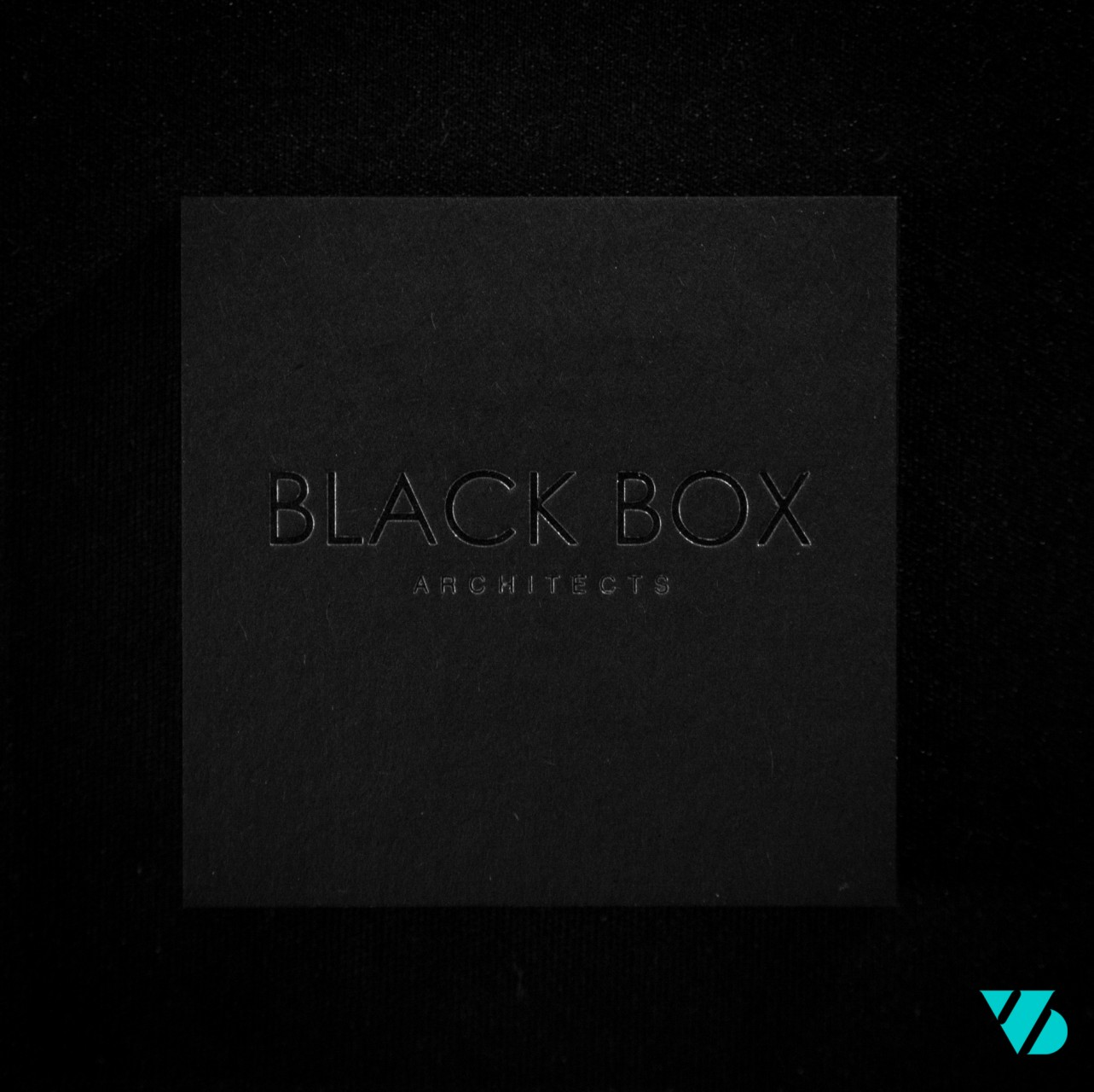 Blackbox business card square