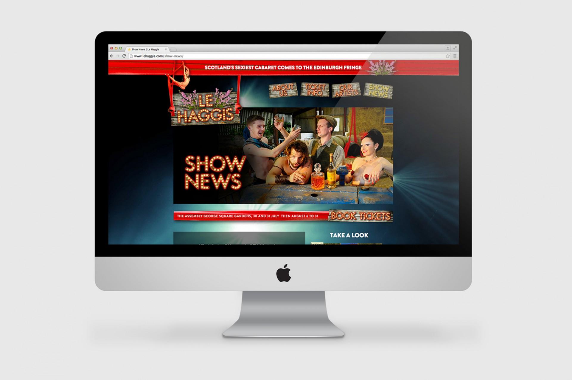 Le Haggis Website